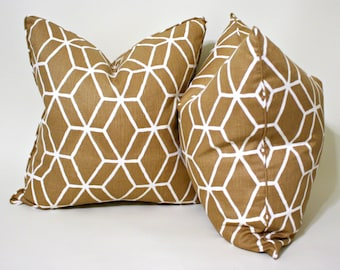 Linen Geometric Pillow Covers, Cushion Covers, Throw Pillows