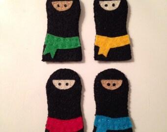Finger Puppet Ninjas