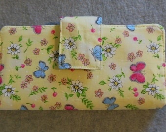 Fabric Wallet - Springtime