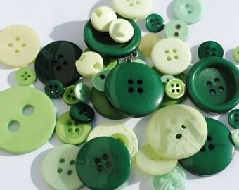 Green Mix - Stash Boost Buttons - 30g bag