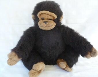 My Chimp Large Monkey Plush 1984
