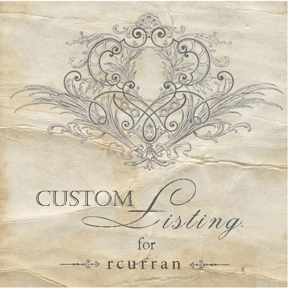CUSTOM LISTING FOR - rcurran - Rustic Candle Favors - Rustic Elegance Collection - Set of 140