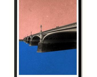 Westminster Bridge, London Wall Art Print