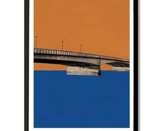 London Bridge, London Wall Art Print