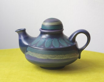Vintage West German Pottery Tea Pot by KMK - Keramik Manufaktur Kupfermühle