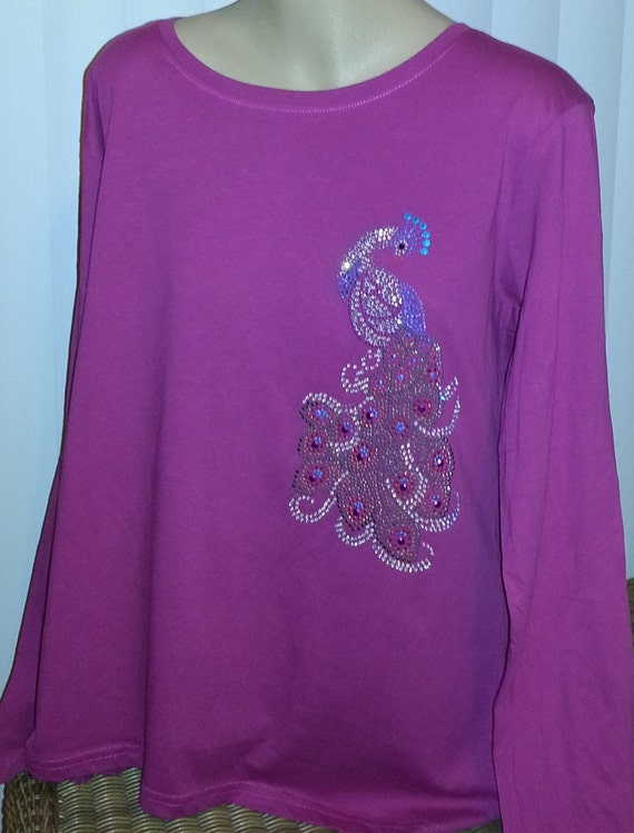 Bling Rhinestones On Tshirts Sweatshirts Huggies Lots Of