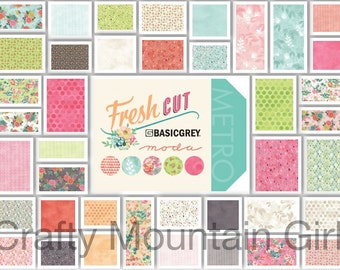 Fresh Cut Charm Pack by BasicGrey for Moda