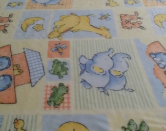 Noah's Ark Fleece Blanket