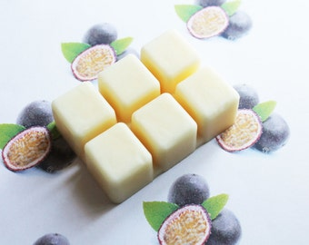 Passion Fruit Scented Melts - Natural Vegan Soy Wax - Soy Candles - Soy Wax Melts - Soy Tarts