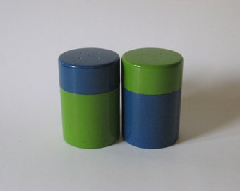 Laurids Lonborg mid century vintage lacquerware salt and pepper shakers