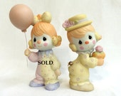 "Precious Moments Collectible Figurines  ""Clowns"" 12238/D"