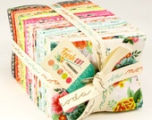 FRESH CUT - Fat Quarter Bundle - by Basic Grey for Moda Fabrics - 40 FQs