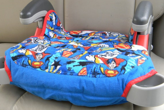 Superman Car Accessories: Booster Seat Replacement, Booster Seat Cover