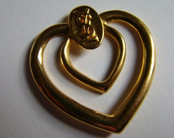YSL Yves Saint Laurent Scarf Ring