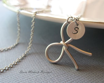 Ribbon tie necklace etsy for Ribbon tie necklace jewelry