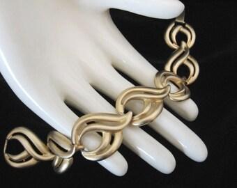 Vintage Erwin Pearl - Fernando Originals F.O. Bracelet - Gold tone Link Bracelet