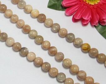 Yellow Moonstone 12mm round Loose Beads