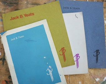 Jack Butler Yeats Vintage Catalogue Collection 1961 - 1973