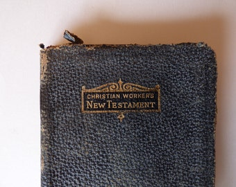 1924 Christian Workers New Testament- Antique