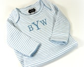Baby Boy Gown in Blue