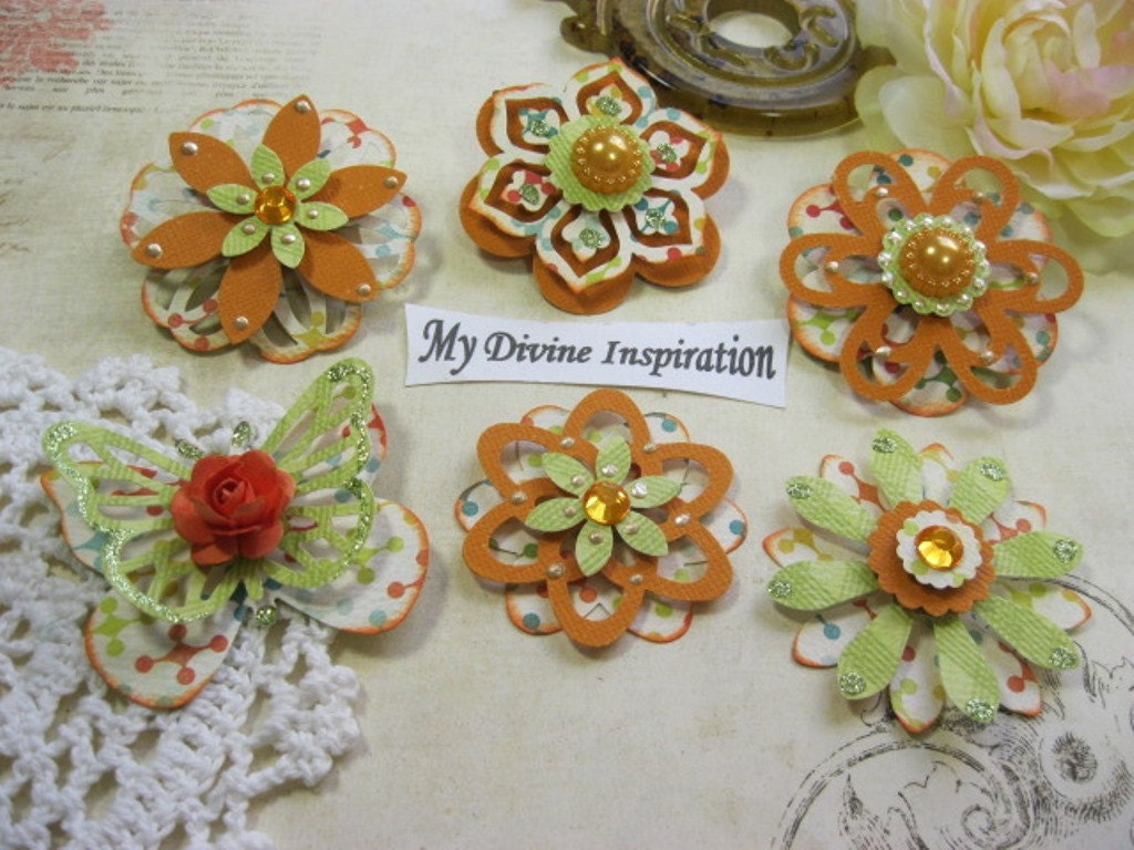 Scrapbook ideas with flowers - Sold By Mydivineinspiration