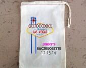 Oh Shit Kit Bachelorette Party,  Hangover Kit, Drawstring Favor Bags, Personalized FREE, Las Vegas