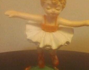 Vintage Toy Dancing Ballerina