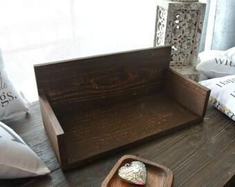 Little Love Pillow Stand, Little Shelf for little pillows, Home decor shelf, small shelf, pillow stand, wooden pillow stand