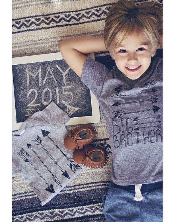 Big Brother Arrows Kids T Shirt Baby and by VicariousClothing