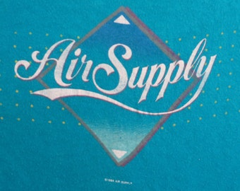 AIR SUPPLY 1984 tour SHIRT