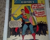 RESERVED FOR BellyDance WitcheryAction Comics October 1965 Superman vs Ultimate Enemy 329