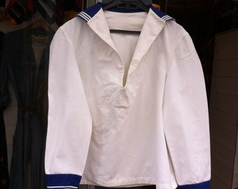 1950 French Navy Sailor Jacket#1