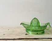 Vintage Green Lemon Juicer