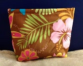 Tropical Palace Clutch Bag