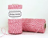 Bakers Twine in RED and Pink and white -15 yards, Valentine Twine, red, pink and white Wedding, Valentine wedding,