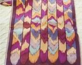 Vintage Evan Picone Long Scarf Silk
