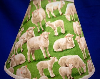 Sheep Lamp Shade Farm Lampshade