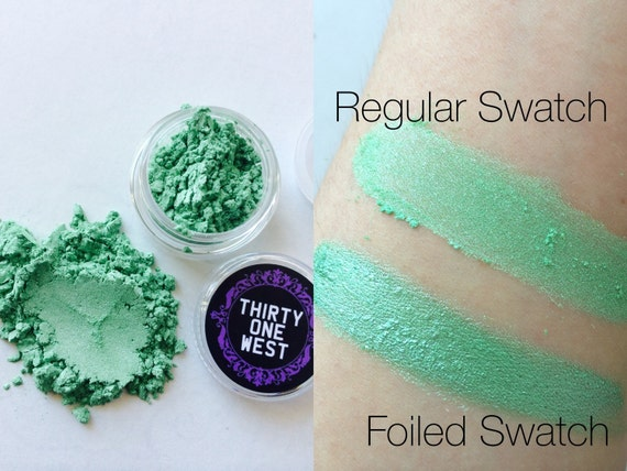 SALE I'm Your Present Mint Green Loose Pigment Eyeshadow