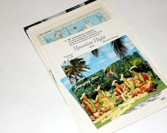 Hawaii - United States Vintage Travel Collage Kit