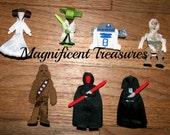 Choose a Star Wars Ribbon Sculpture Hair Clip