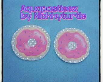 Cute Pink Donut Pasties