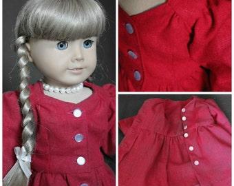 """1940s Doll Dress Fits 18"""" Dolls"""