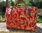 Weekend/ Overnight/ Flight/ Carry On/ 'Carpet' Travel Bag.
