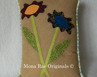 """Everlasting Flowers Pillow ~ 12"""" x 15"""" Flower Pillow ~ Mothers Day Gift"""