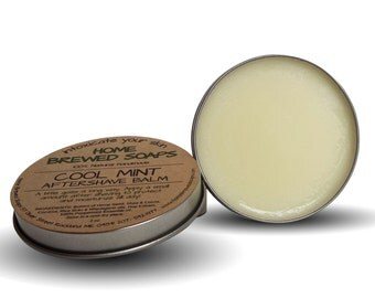 Aftershave Balm for Men - Cool Mint After Shave - Mens Grooming - Face Lotion - Mens Grooming Products - Natural Shaving - Mens Gift