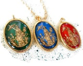 Vintage Asian Pendant Necklace