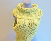 PDF Crochet Pattern Only - Half Sweater Wrap Simple Style - Katniss, Catching Fire, District 12, Hunger Games