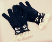 Made to Order: Navy Sailor Gloves