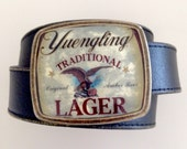 Yuengling Traditional Lager Beer Label Belt Buckle