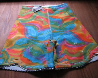 Psychedelic Girdle - 60s Girdle - Wild and Fun in Bright Colors - Tie Dye Girdle